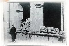 Desmonte e traslado de pezas escultóricas