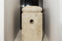 Pedra cuadrangular Granito, 41 x 27 x 27 cm