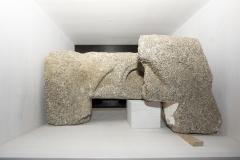 Fiestra de tracería Granito, 44 x 60 x 16 cm S. XIV-XV?