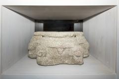 Basamento triplo Granito, 33 x 78 x 56 cm S. XIV-XV