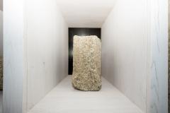 Fuste octogonal Granito, 42 x 21 x 21 cm S. XIV-XV