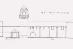 Alzado fachada principal. 1897