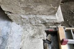 Detalle restauración pezas